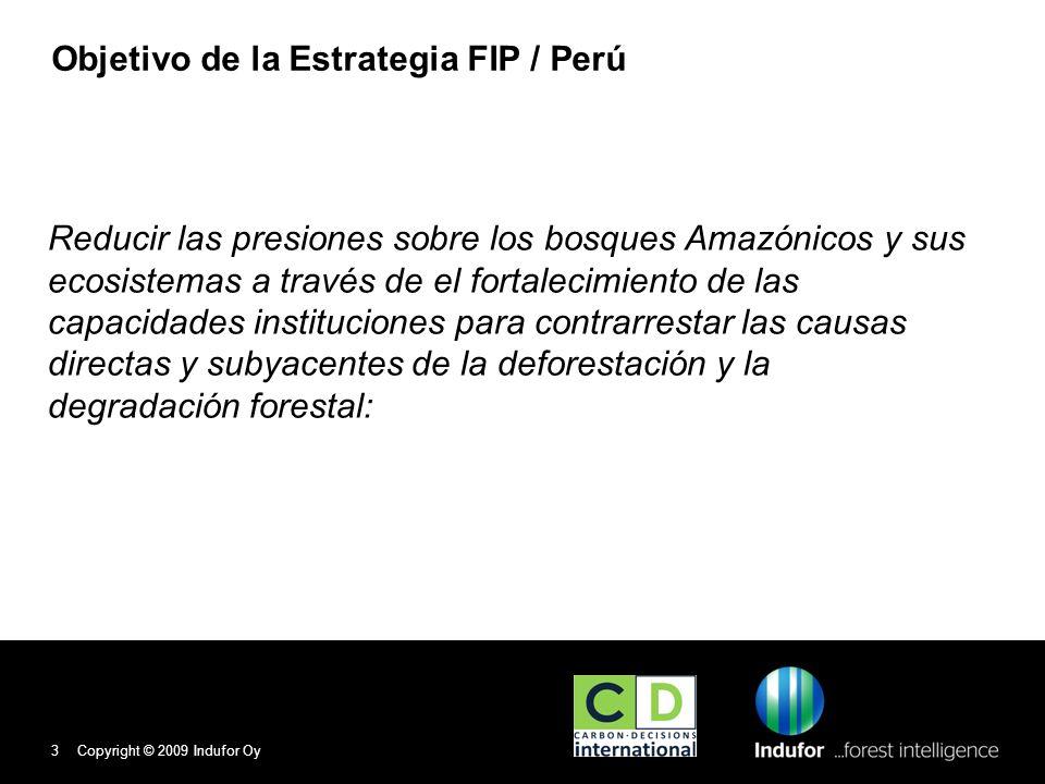 Objetivo de la Estrategia FIP / Perú