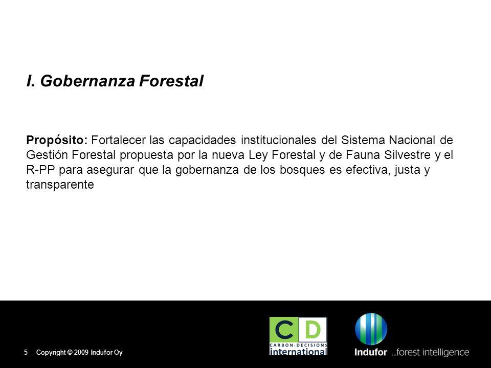 I. Gobernanza Forestal