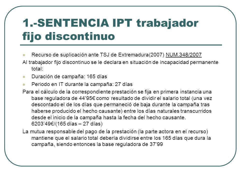 1.-SENTENCIA IPT trabajador fijo discontinuo