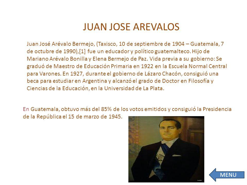 JUAN JOSE AREVALOS