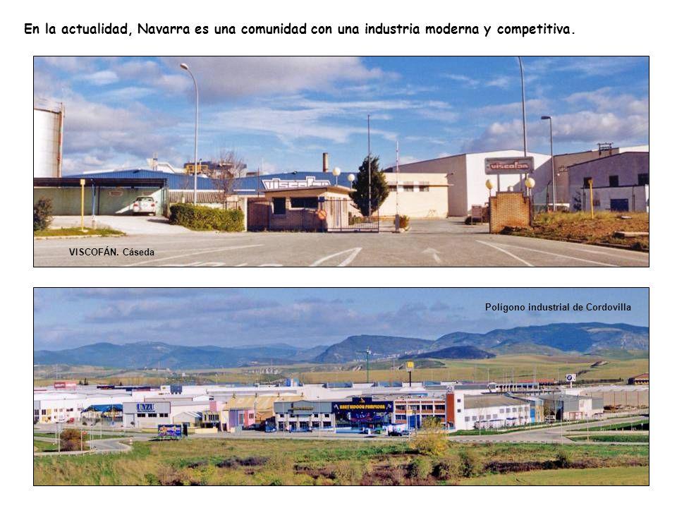 En la actualidad, Navarra es una comunidad con una industria moderna y competitiva.