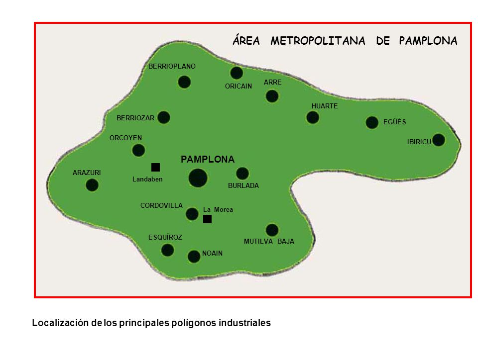 ÁREA METROPOLITANA DE PAMPLONA