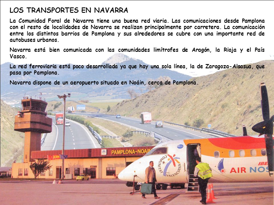 LOS TRANSPORTES EN NAVARRA