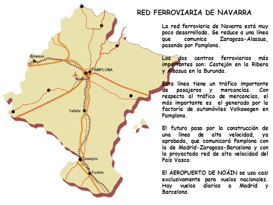 RED FERROVIARIA DE NAVARRA