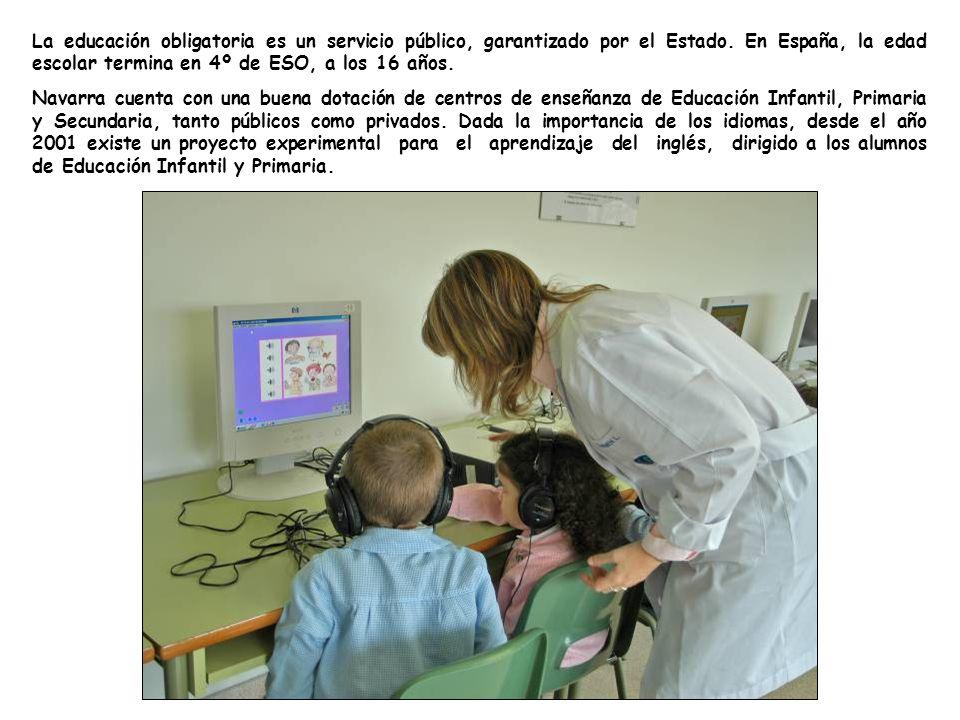 La educación obligatoria es un servicio público, garantizado por el Estado. En España, la edad escolar termina en 4º de ESO, a los 16 años.