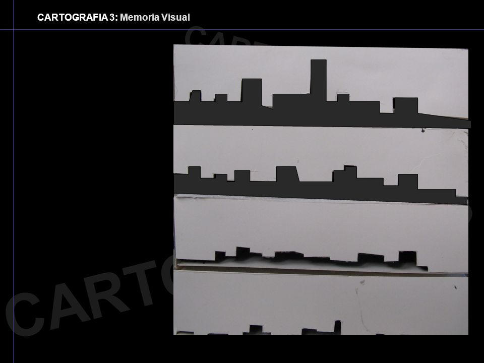 CARTOGRAFIA 3: Memoria Visual