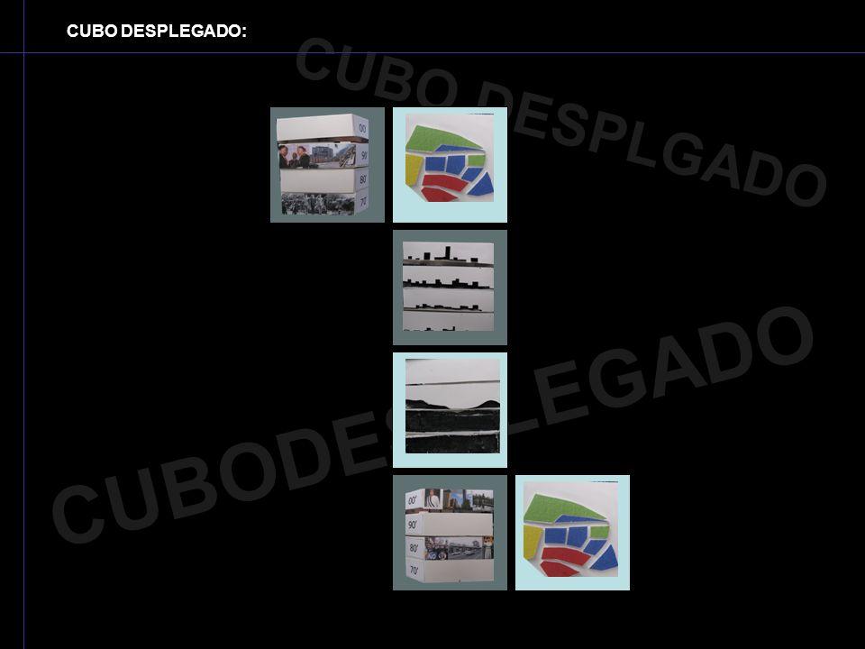 CUBO DESPLEGADO: CUBO DESPLGADO CUBODESPLEGADO