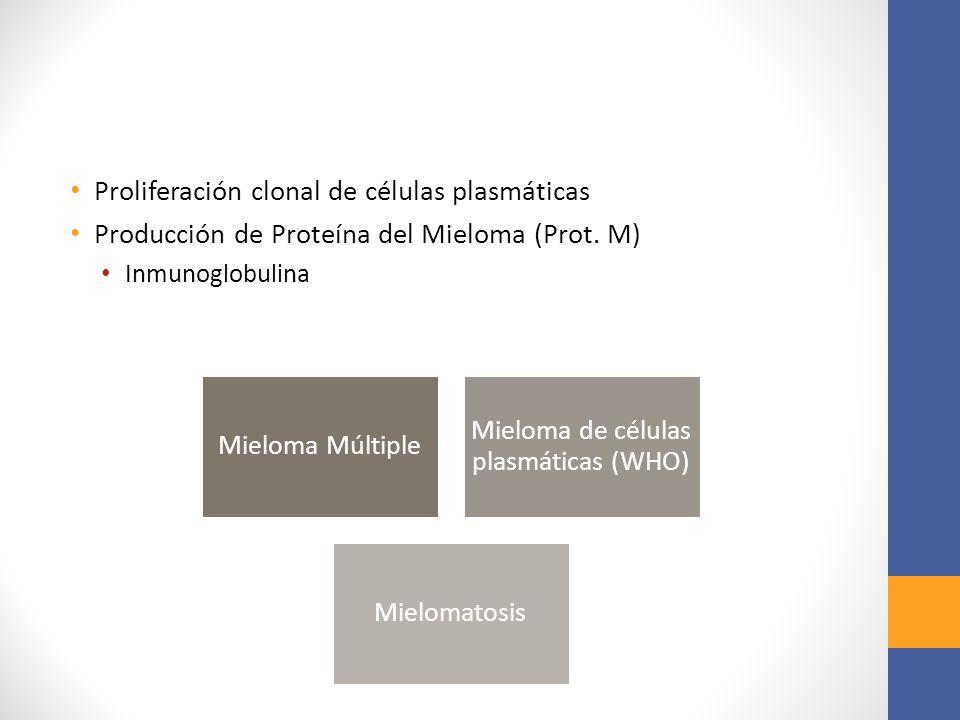 Mieloma de células plasmáticas (WHO)