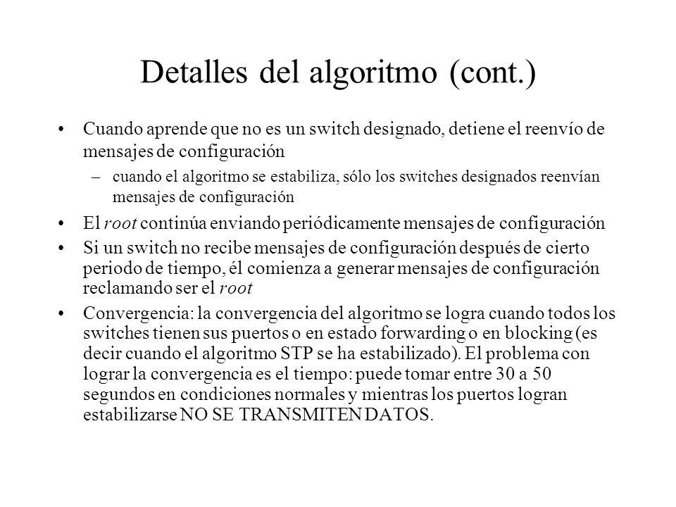 Detalles del algoritmo (cont.)
