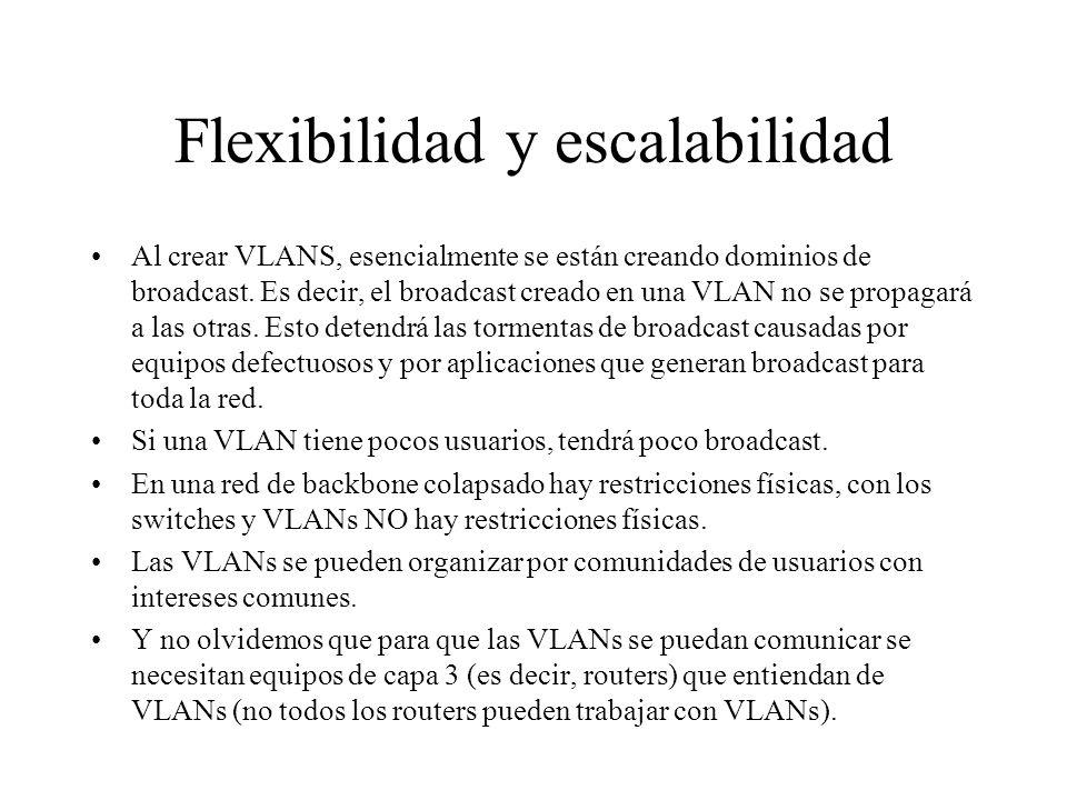 Flexibilidad y escalabilidad