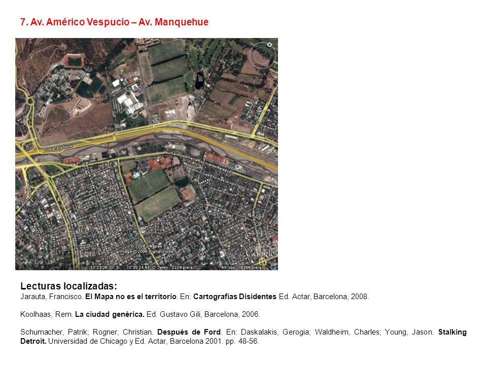 7. Av. Américo Vespucio – Av. Manquehue