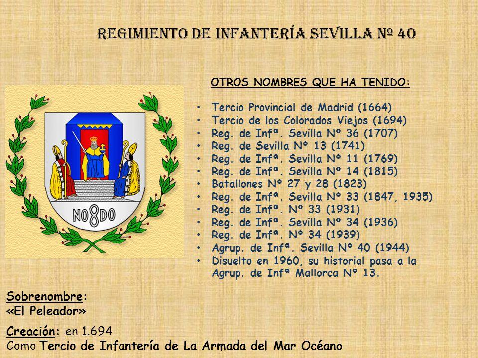 Regimiento de Infantería sevilla nº 40