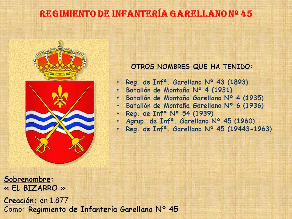 Regimiento de Infantería Garellano nº 45