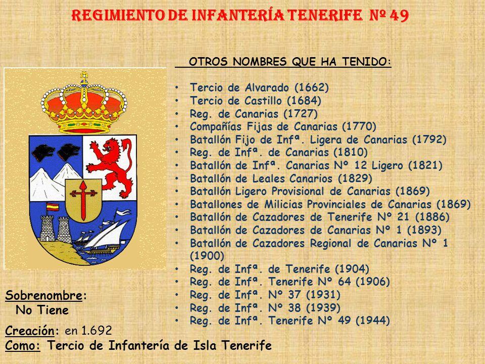Regimiento de Infantería tenerife nº 49