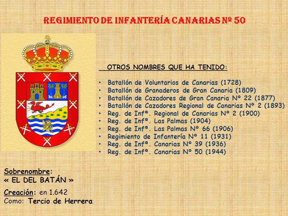 Regimiento de Infantería canarias nº 50