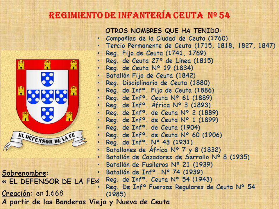 Regimiento de Infantería Ceuta nº 54
