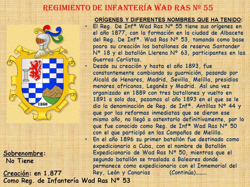 Regimiento de Infantería wad ras nº 55