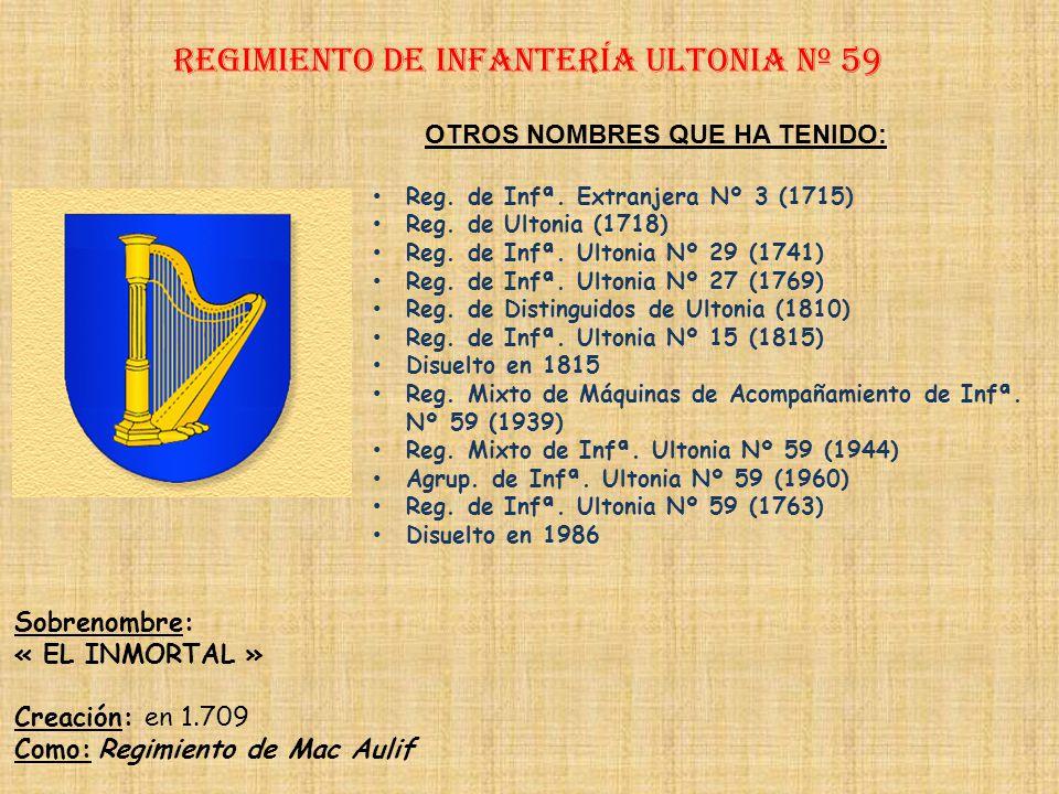 Regimiento de Infantería ultonia nº 59