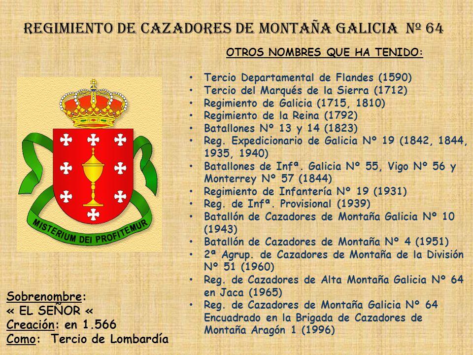 Regimiento de cazadores de montaña galicia nº 64