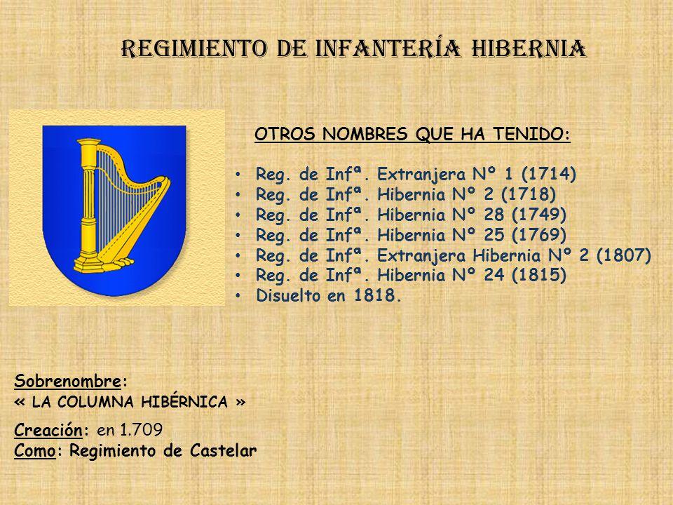 Regimiento de infantería hibernia