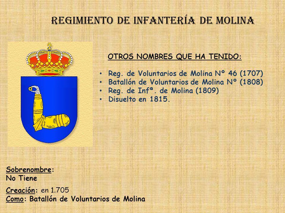 Regimiento de infantería de molina