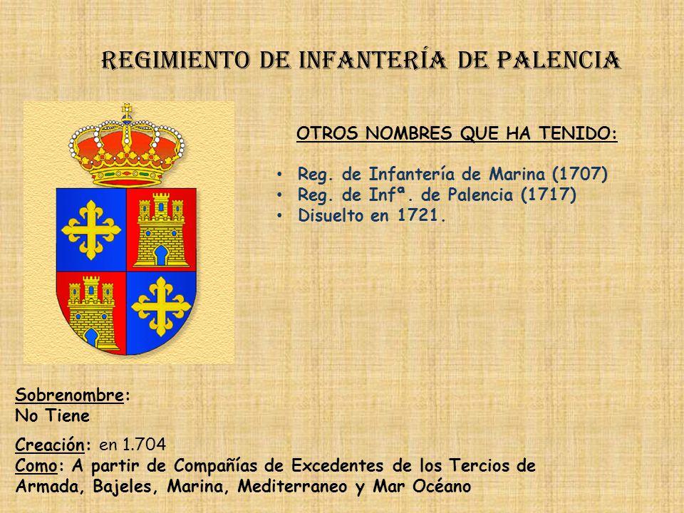 Regimiento de infantería de palencia