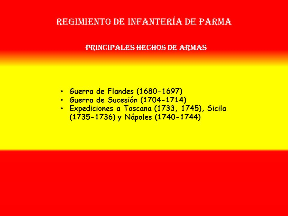 Regimiento de infantería de parma