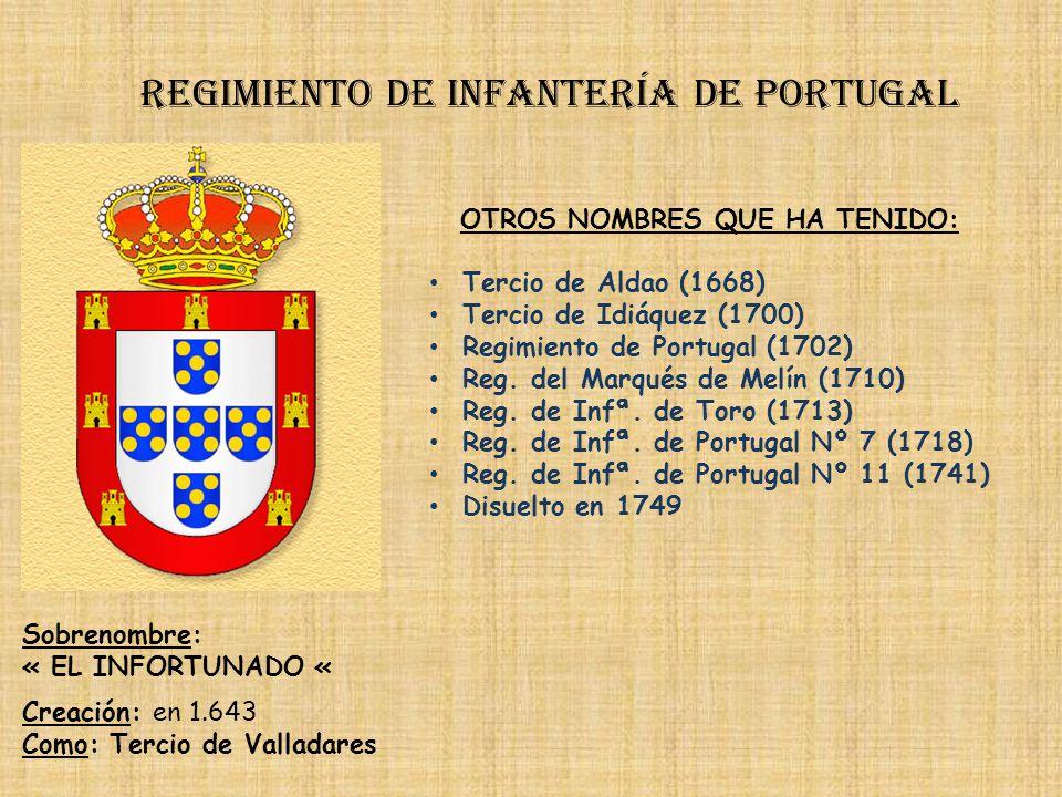 Regimiento de infantería de portugal