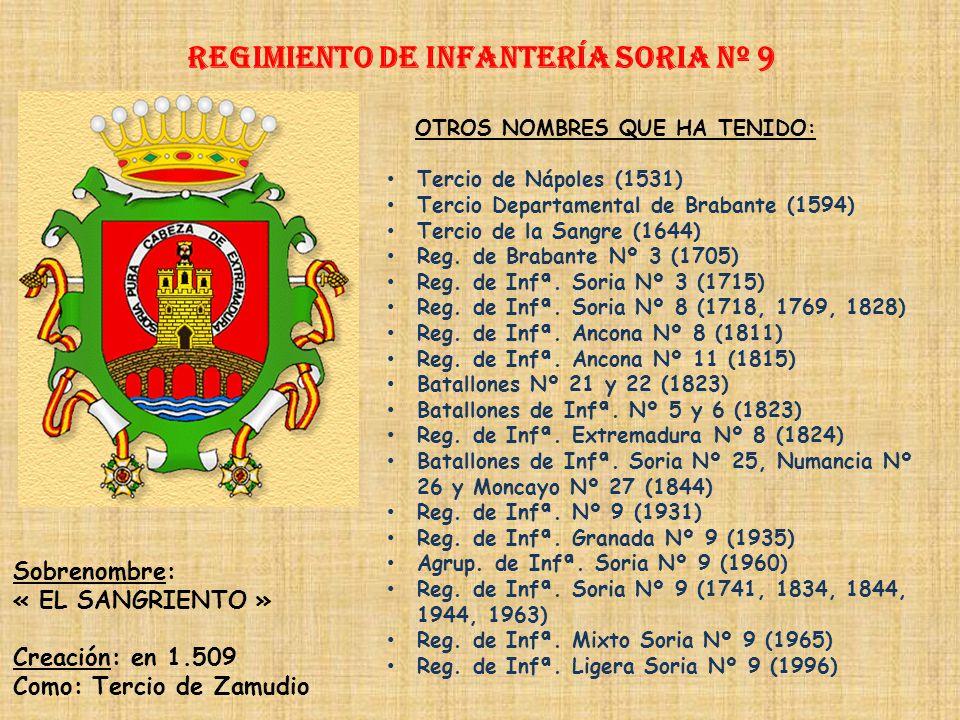 Regimiento de Infantería SORIA nº 9