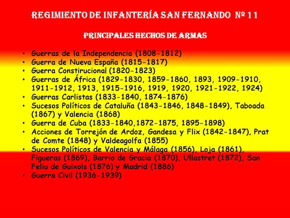 Regimiento de Infantería SAN FERNANDO nº 11