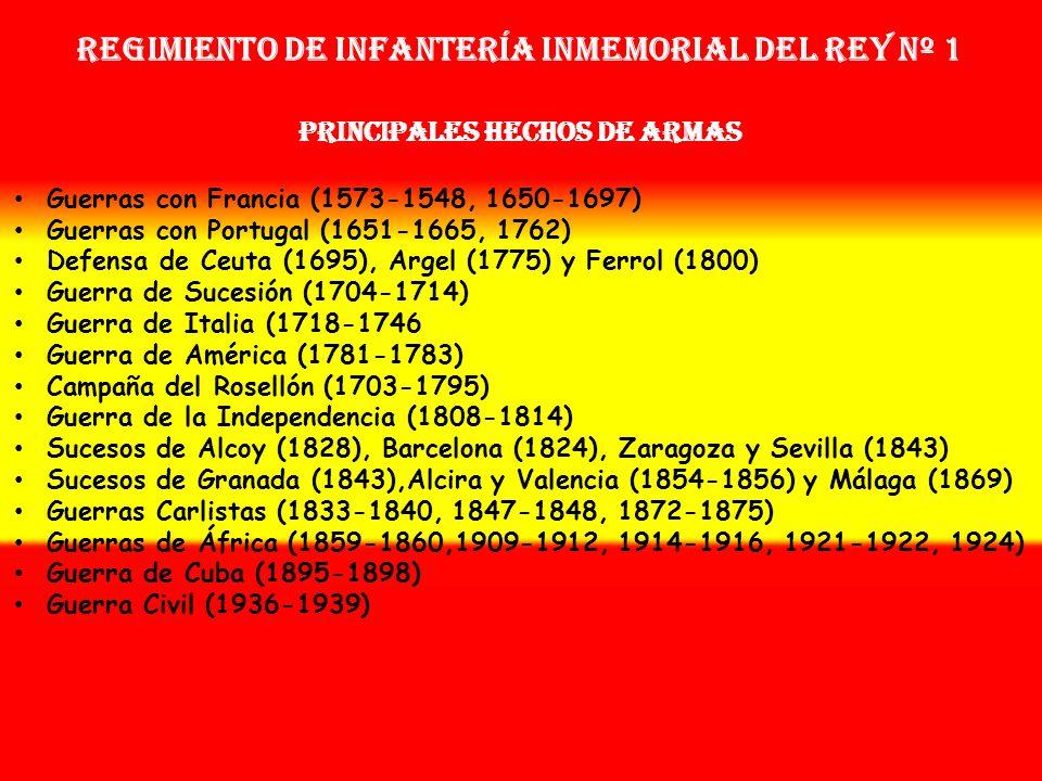 Regimiento de Infantería Inmemorial del Rey nº 1