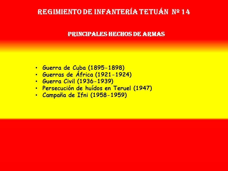 Regimiento de Infantería TETUÁN nº 14