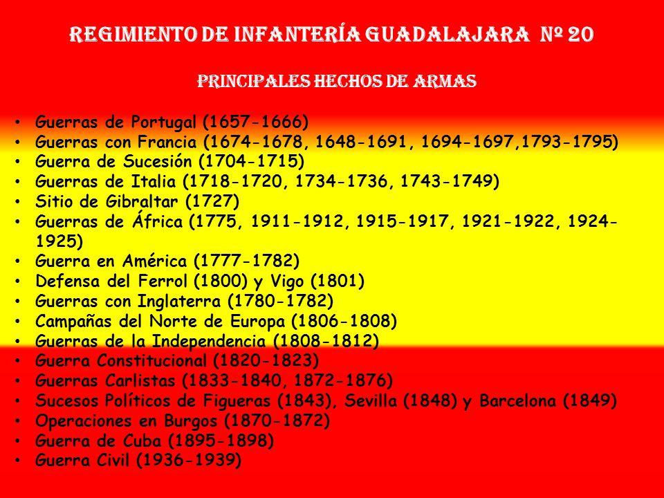 Regimiento de Infantería GUADALAJARA nº 20