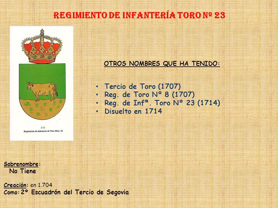 Regimiento de Infantería TORO nº 23