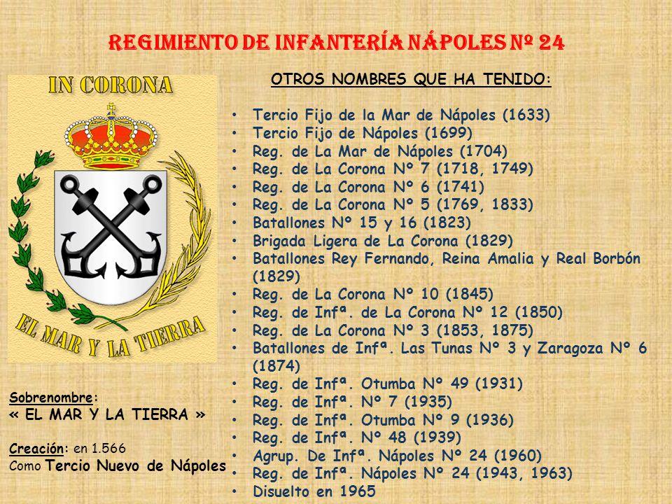 Regimiento de Infantería NÁPOLES nº 24