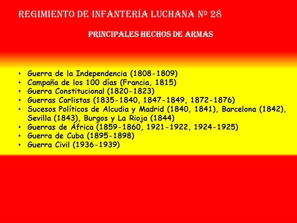 Regimiento de Infantería LUCHANA nº 28