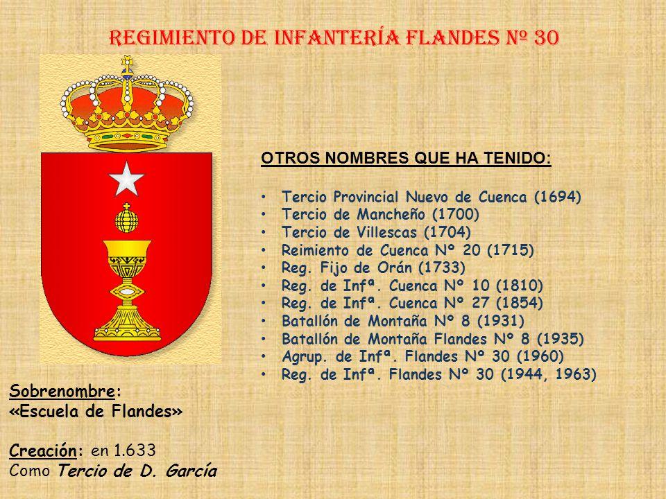 Regimiento de Infantería flandeS nº 30