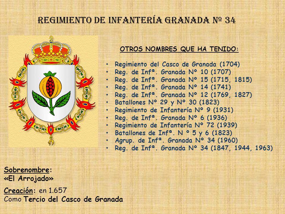 Regimiento de Infantería granada nº 34