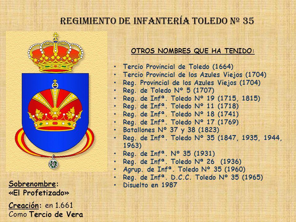 Regimiento de Infantería toledo nº 35