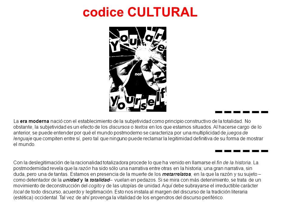 codice CULTURAL