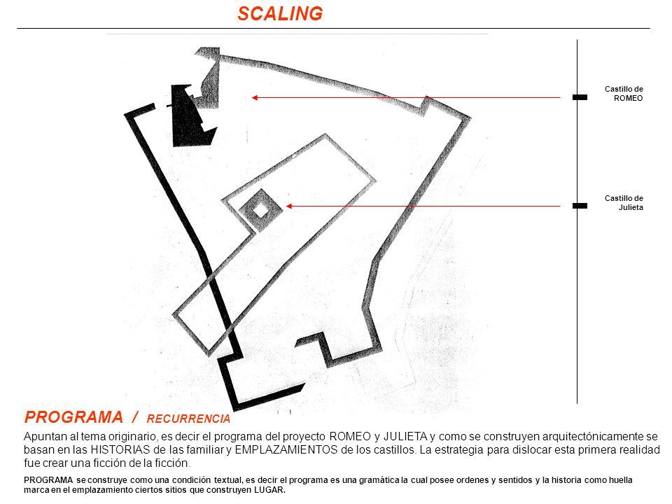 SCALING PROGRAMA / RECURRENCIA