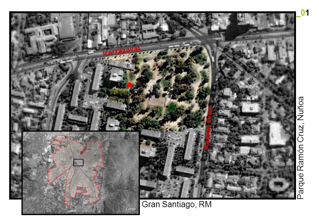 _01 Parque Ramón Cruz, Ñuñoa Gran Santiago, RM