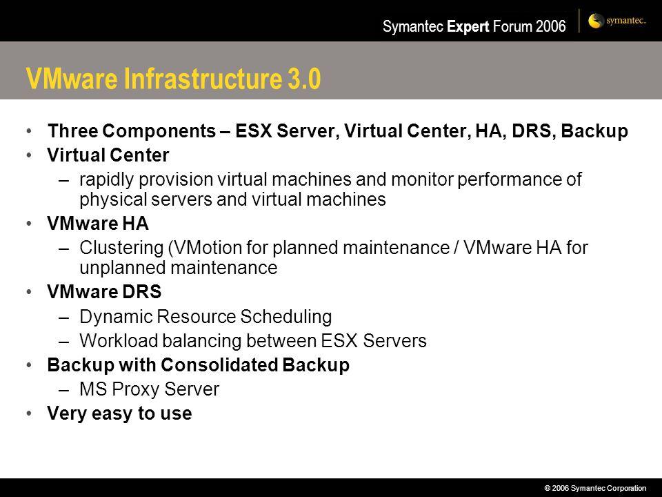 VMware Infrastructure 3.0
