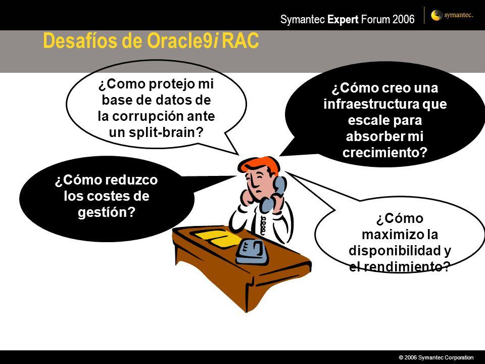 Desafíos de Oracle9i RAC