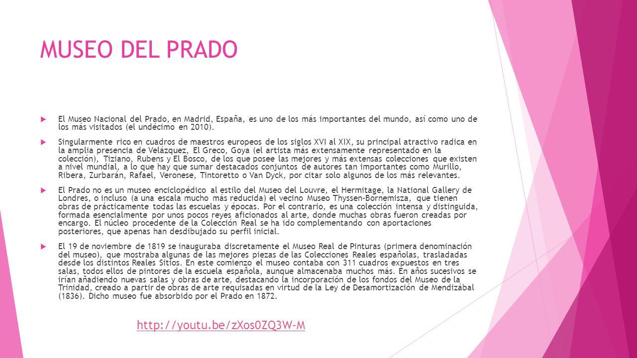 MUSEO DEL PRADO http://youtu.be/zXos0ZQ3W-M