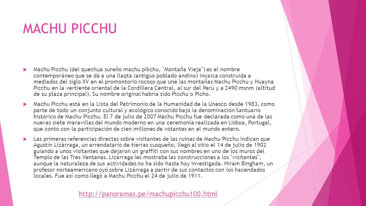 MACHU PICCHU http://panoramas.pe/machupicchu100.html