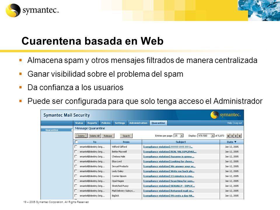 Cuarentena basada en Web