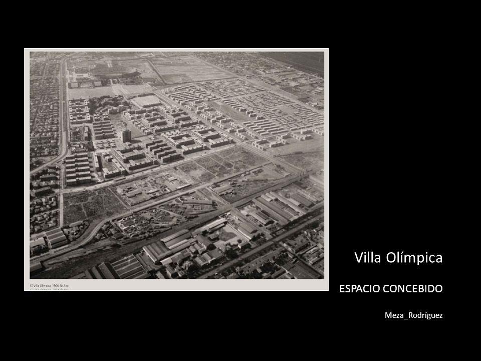 Villa Olímpica ESPACIO CONCEBIDO Meza_Rodríguez