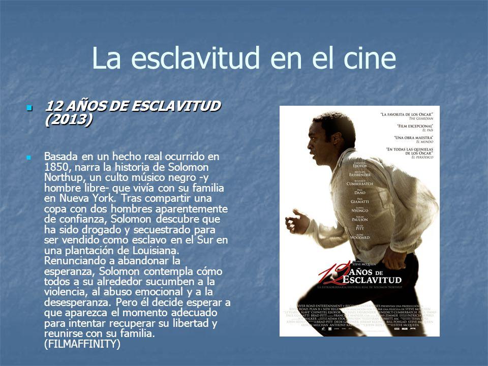 La esclavitud en el cine