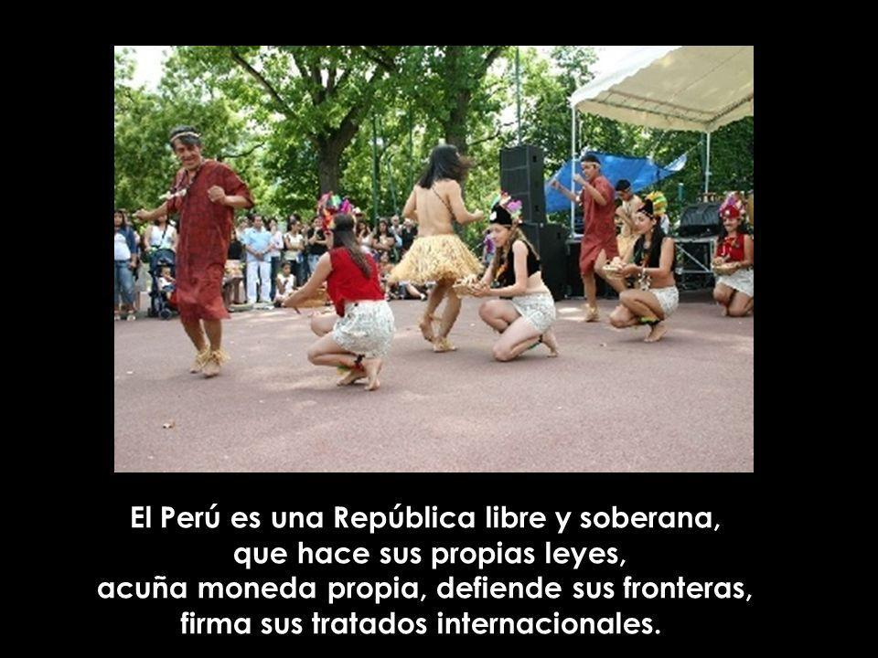 El Perú es una República libre y soberana, que hace sus propias leyes,